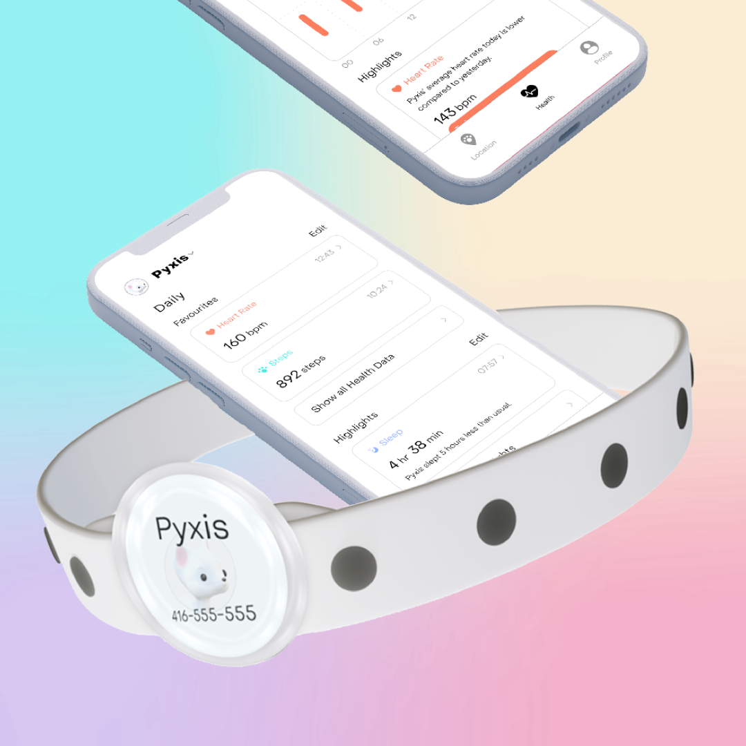 Cleo is a smart collar that creates a stronger bond between a pet and their owner. Targeted towards active people who want to track their pet's activity and location.