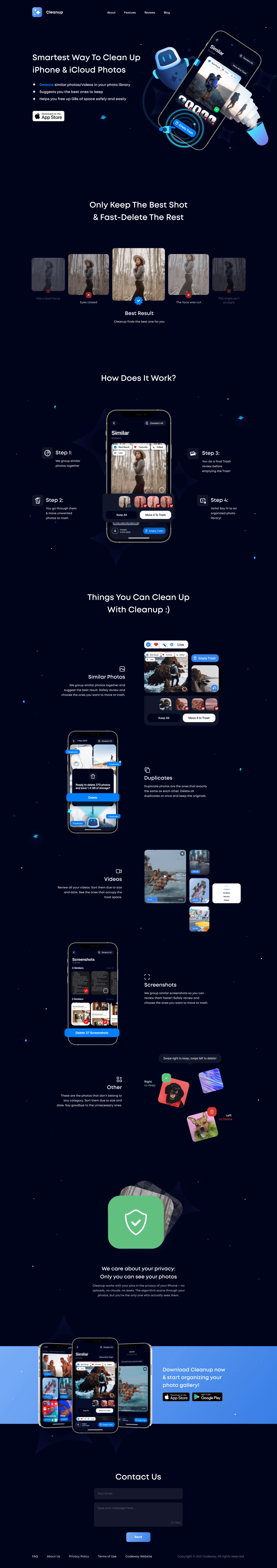 Website converted from Figma to Webflow