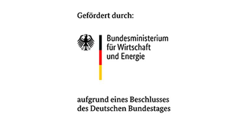 Förderung des Bundesministeriums für Wirtschaft und Energie