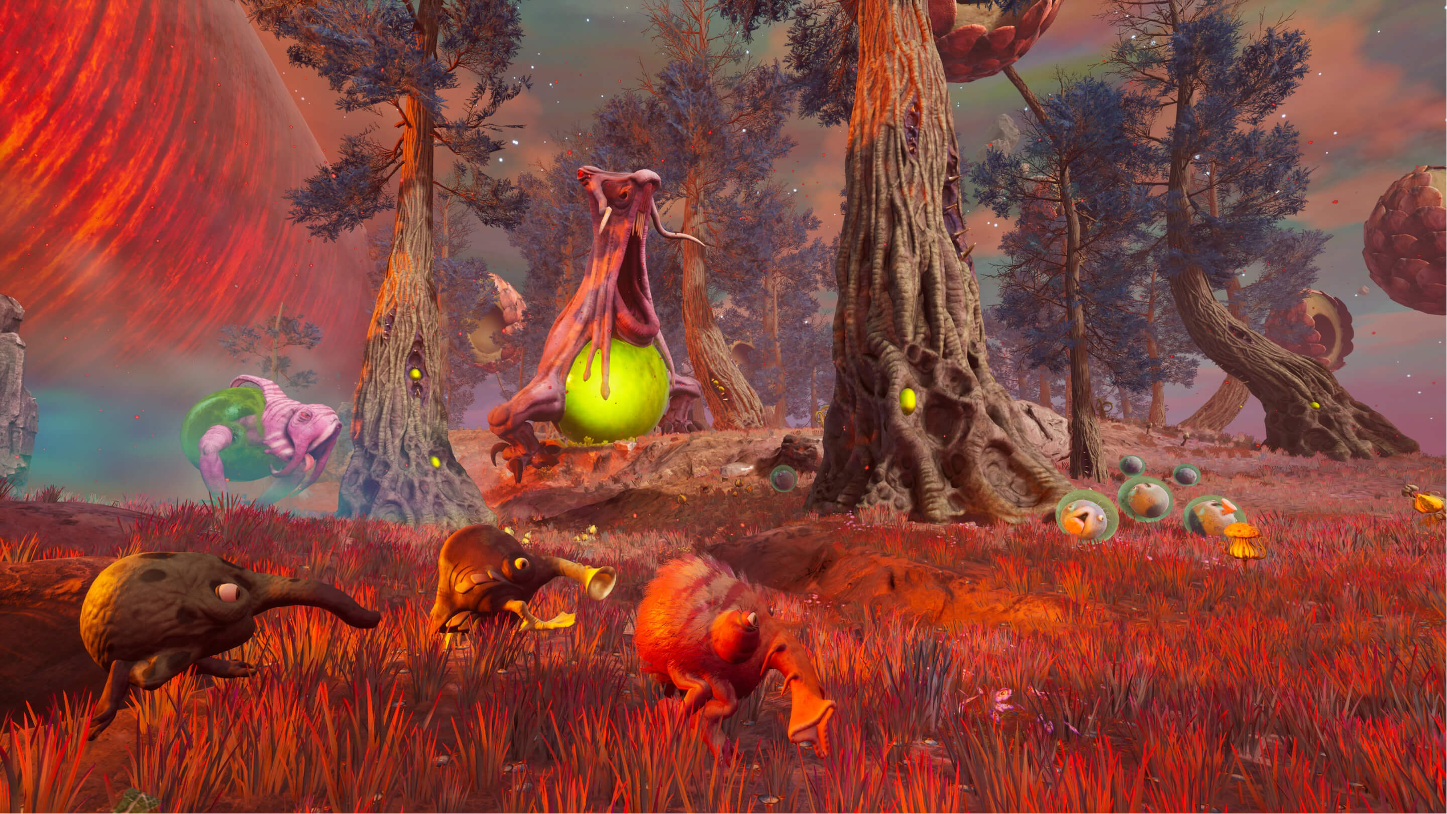 Eternal Cylinder Environment Screenshot
