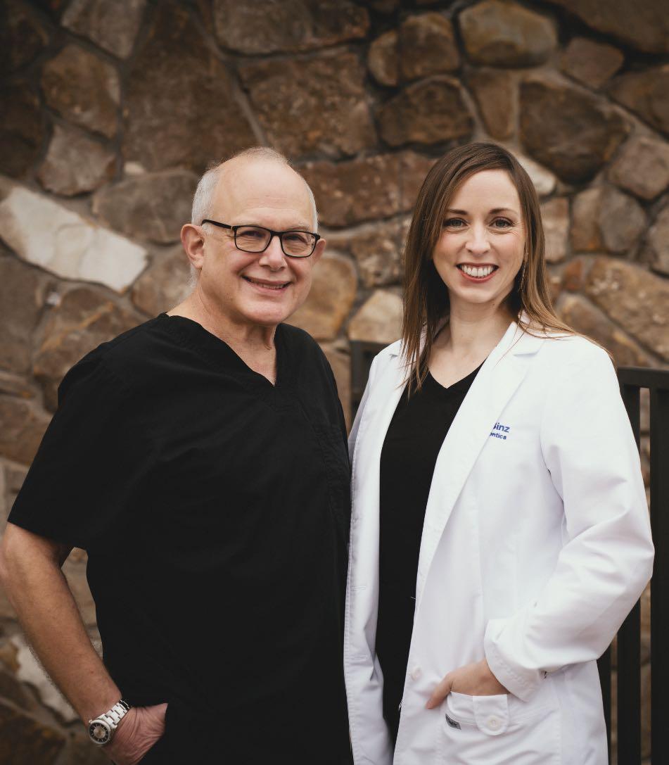 Photo of Dr. Snitzer & Dr. Binz
