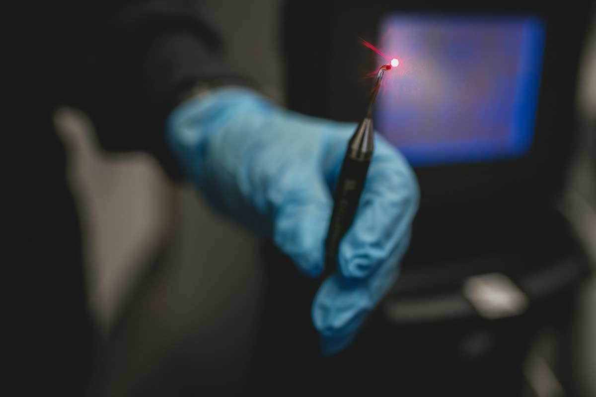 Photo of the PerioLase® MVP-7™, a laser used in Periodontal Therapy