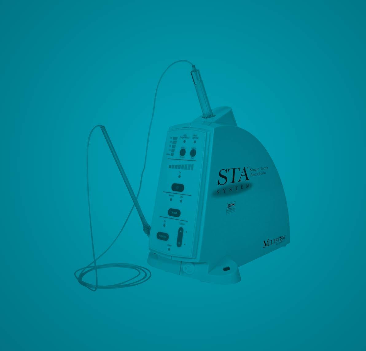 The Wand Computerized Anesthesia machine