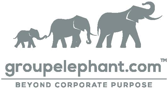 greyscale groupelephant.com logo