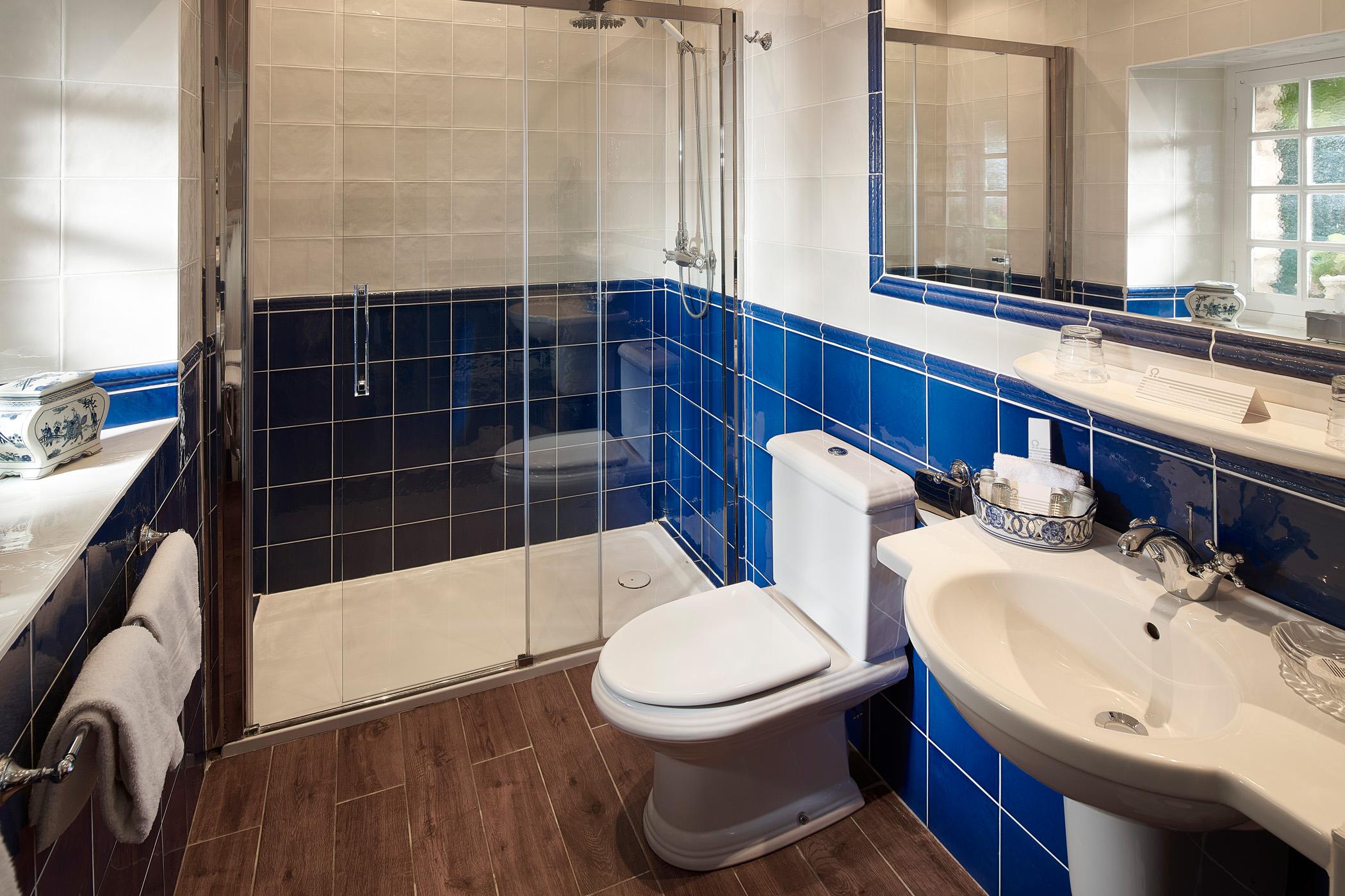 bathroom bleuet