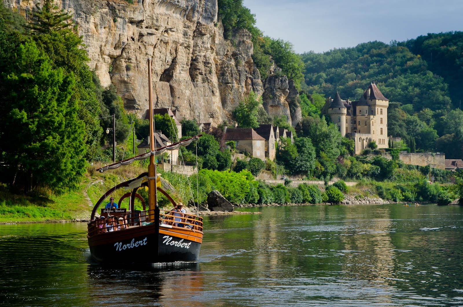 boat dordogne