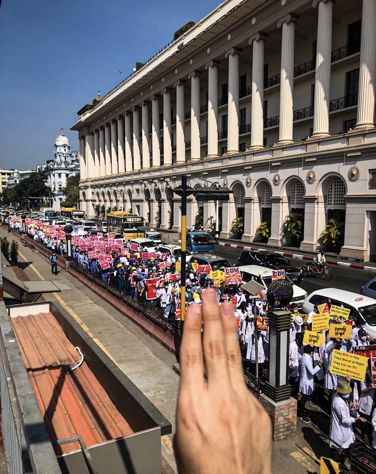Anonymous, Myanmar