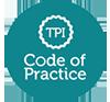 TPI Code of Practice Logo