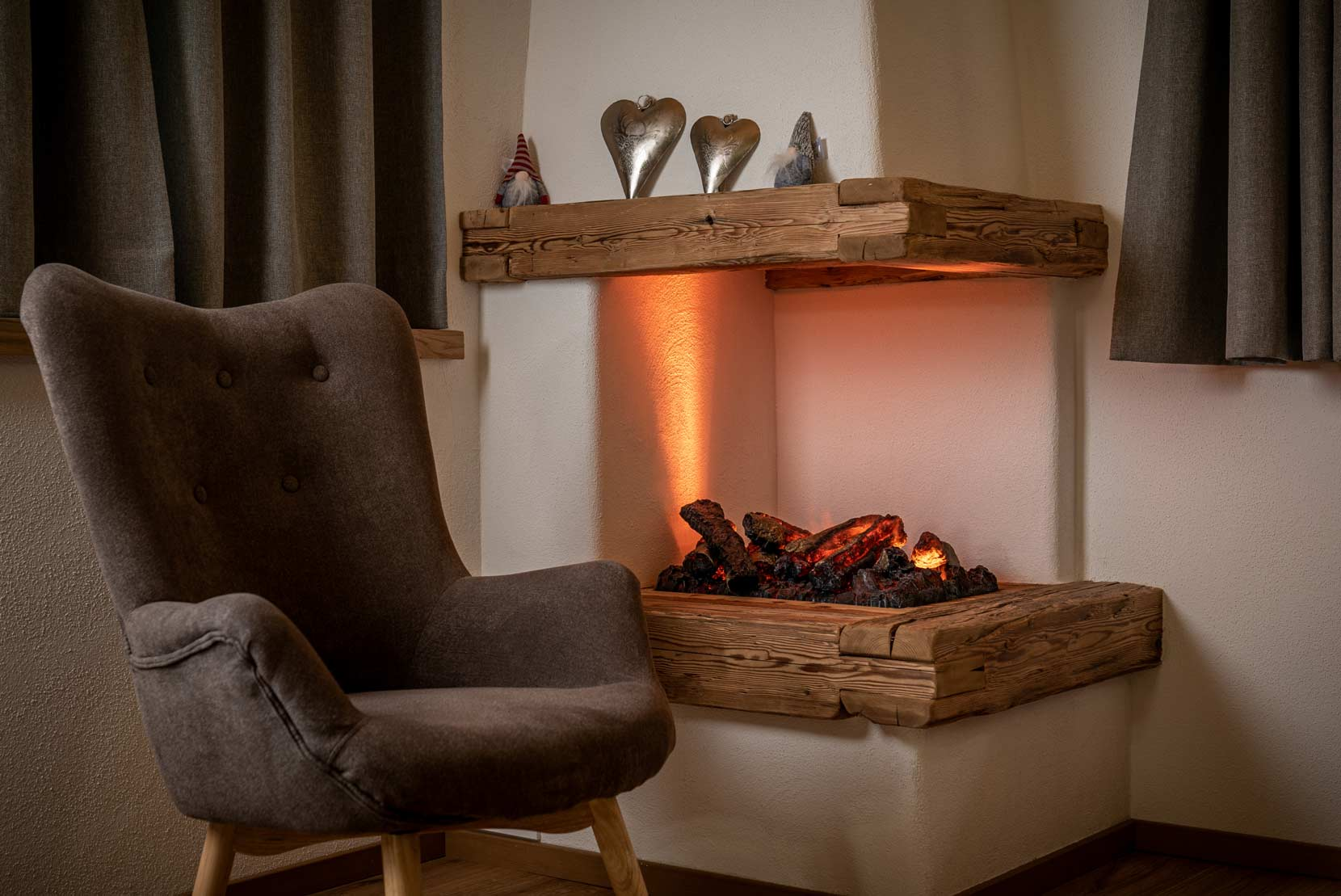 Auermühle Premium Penthouse Appartement – Leseecke