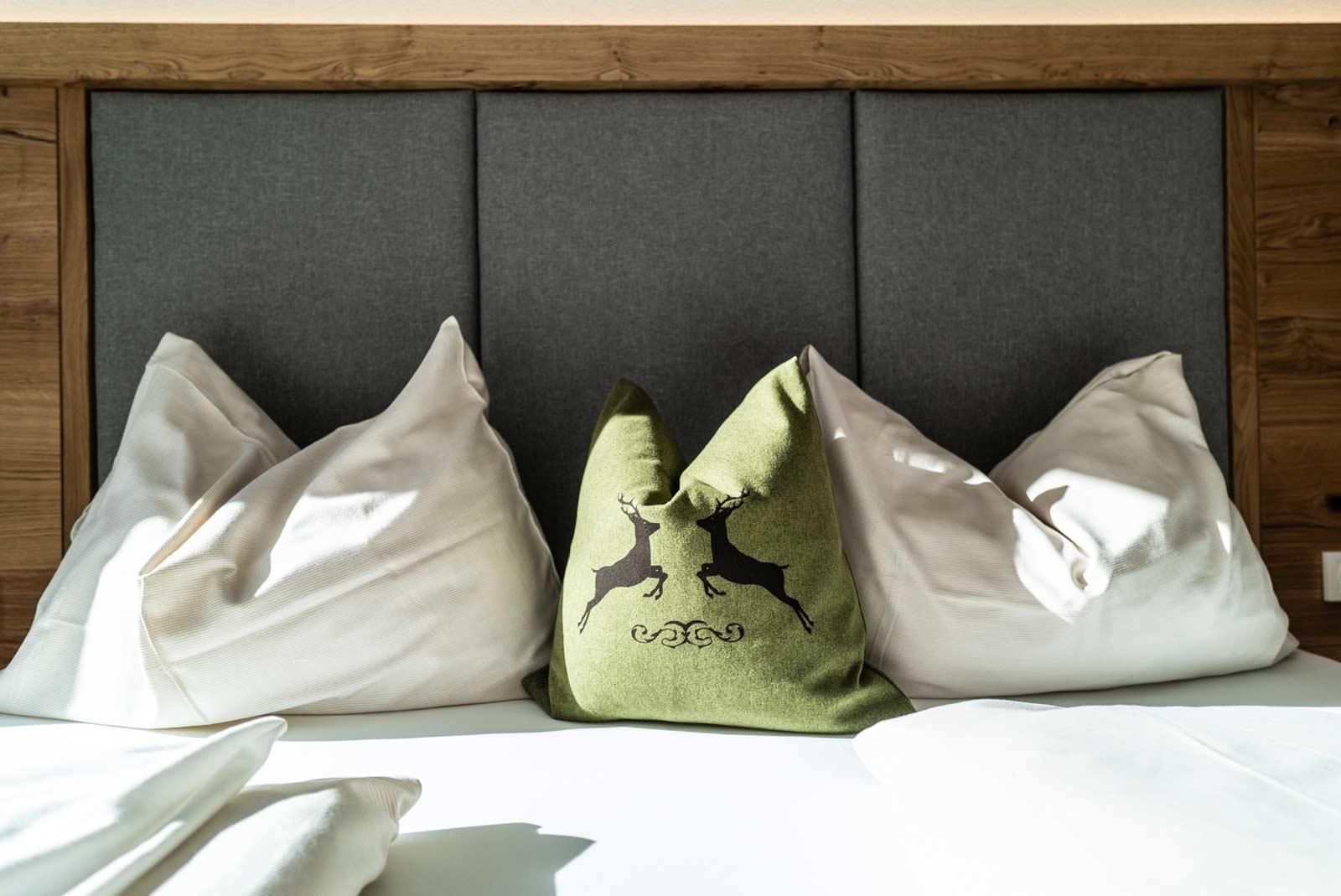Auermühle Premium-Appartement – Boxspring-Doppelbett