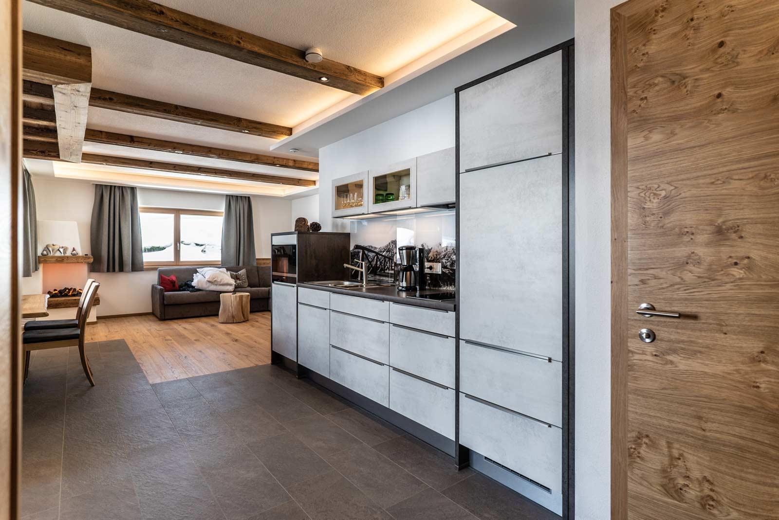 Auermühle Premium-Appartement – Küche