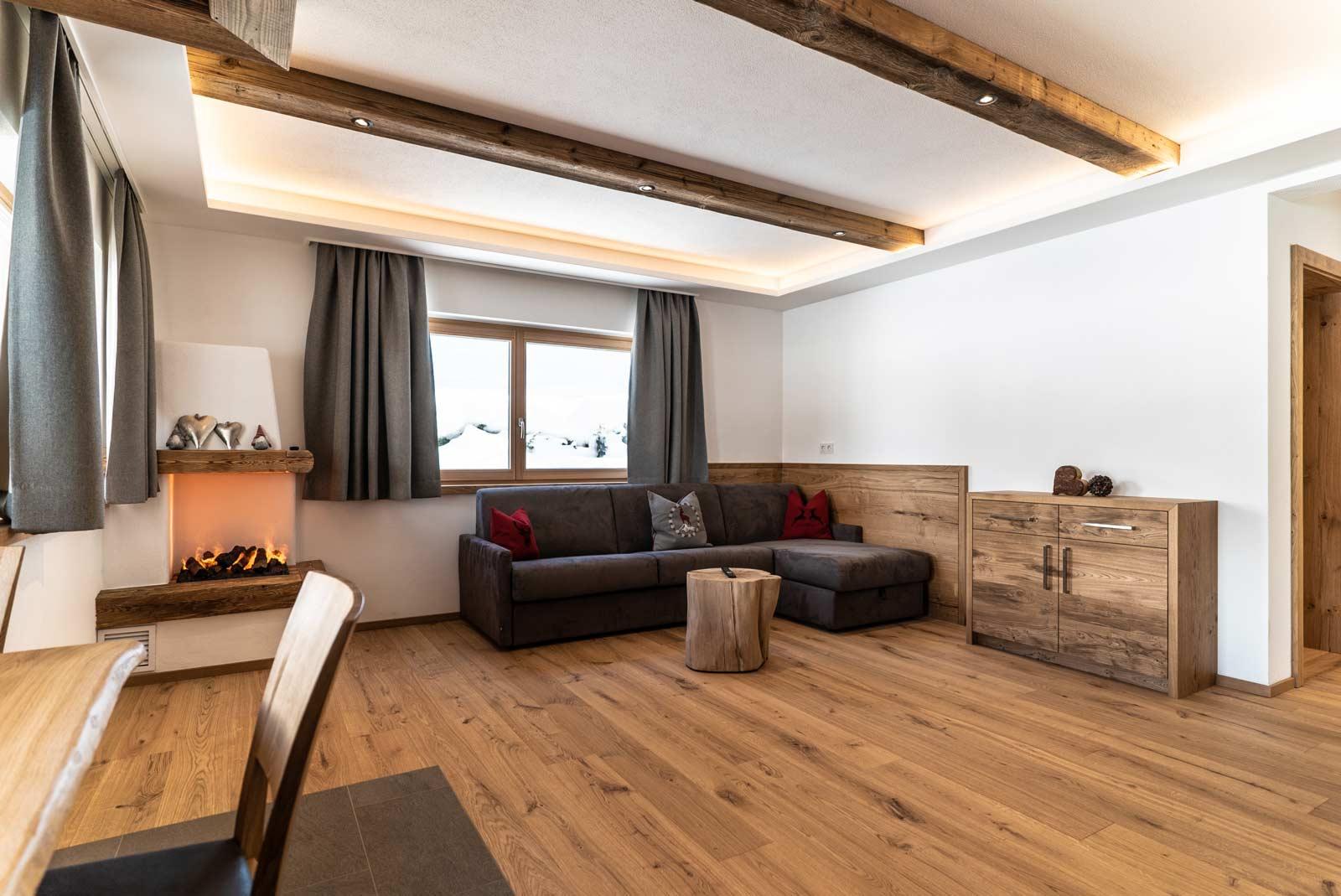 Auermühle Premium-Appartement – Wohnbereich