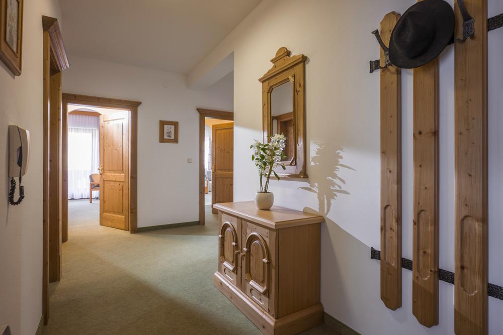 Auermühle Appartements – Vorraum