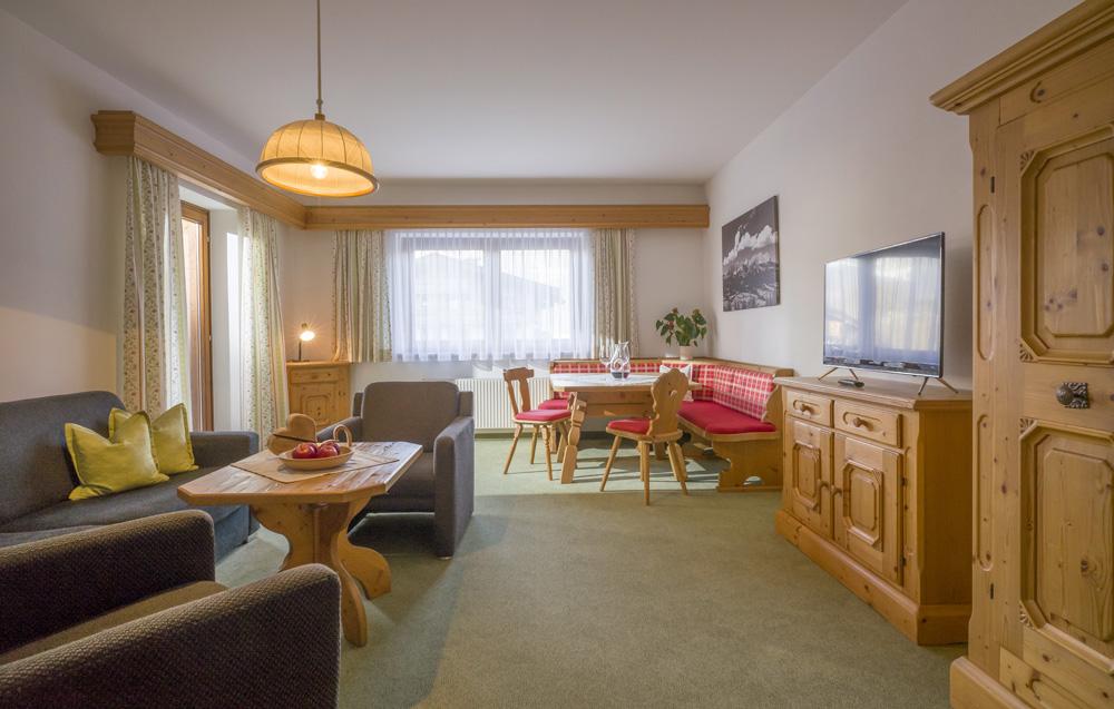 Auermühle Appartements – Wohn-Essbereich