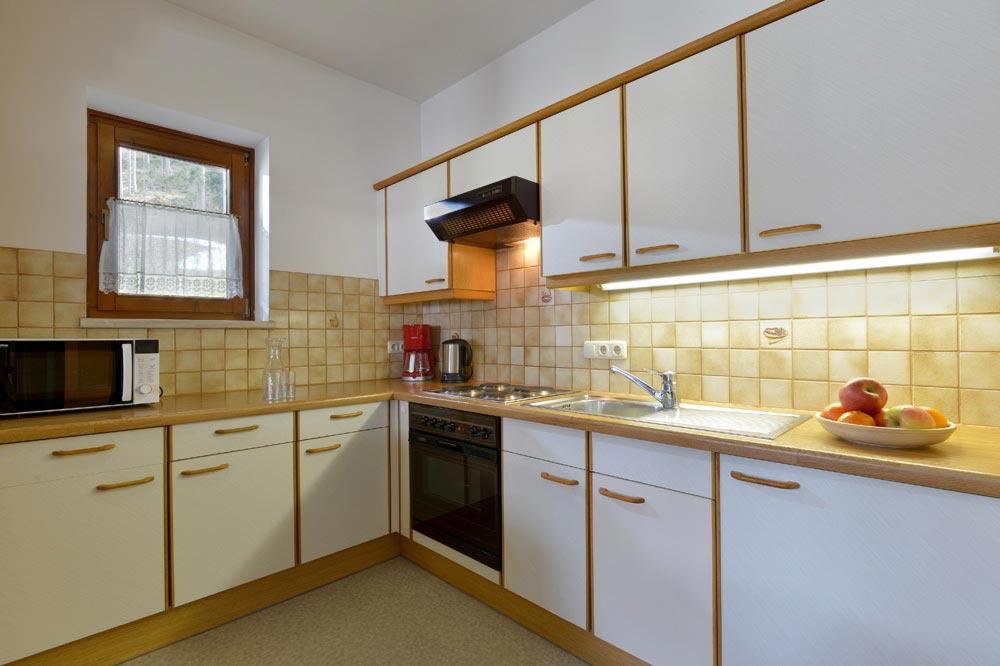 Auermühle Appartements – Küche