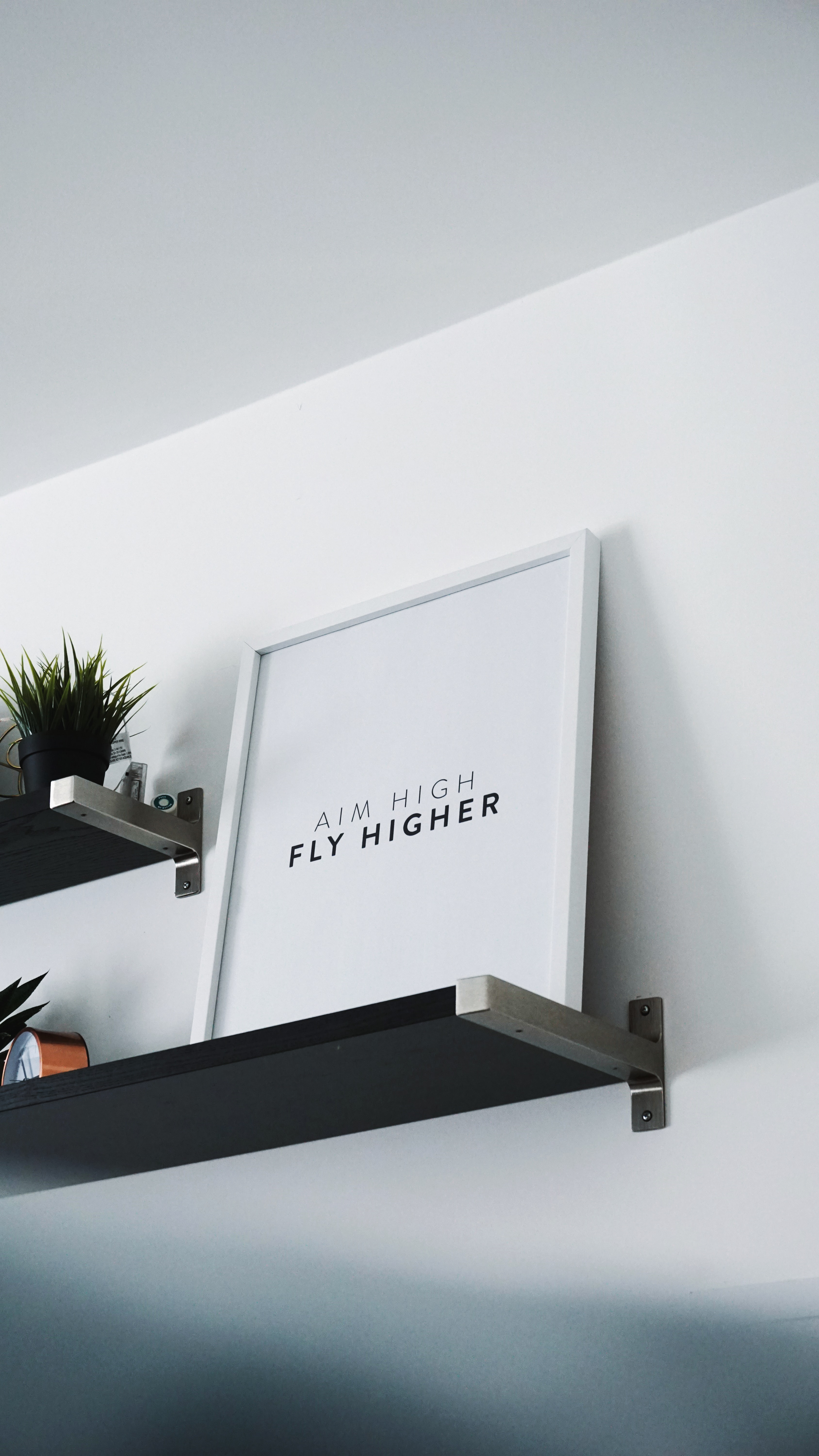 Aim higher to fly higher, is a state of mind.