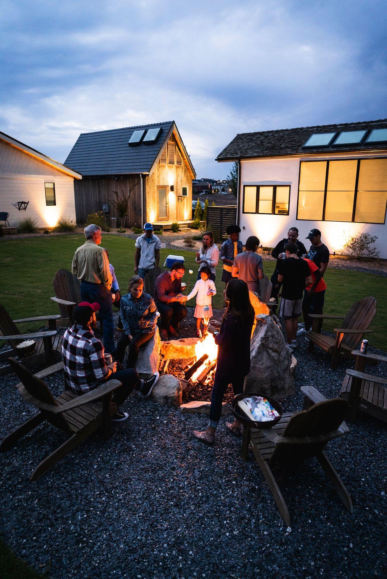 Trilith Micro Village Campfire