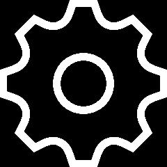 Gear / cog icon