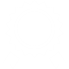 Icon depicting a badge / rosette
