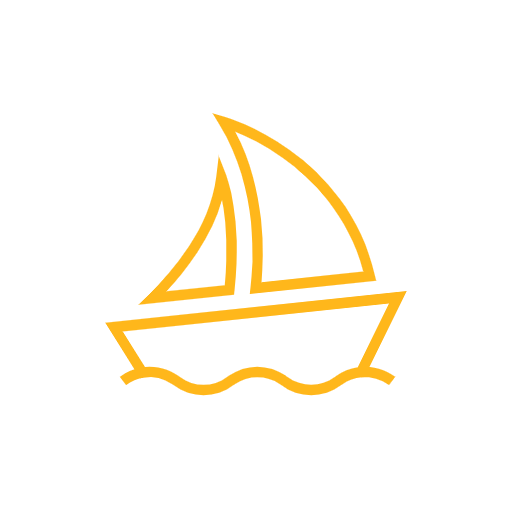 boating accident icon