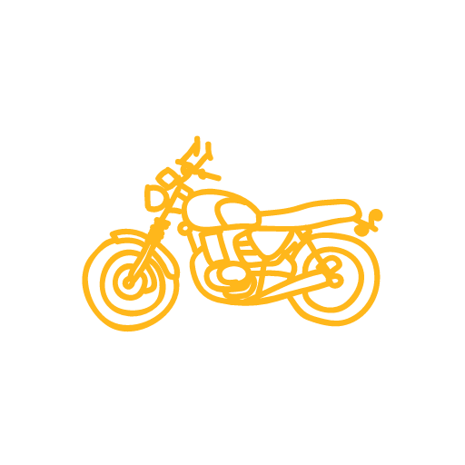 motorcycle accident icon