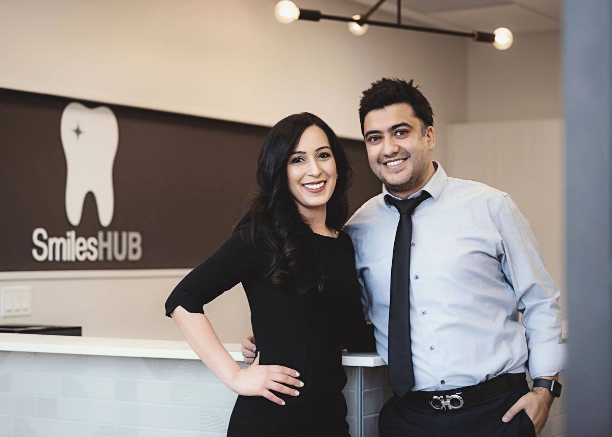 Photo of Dr. Sushant and Dr. Ritu together smiling