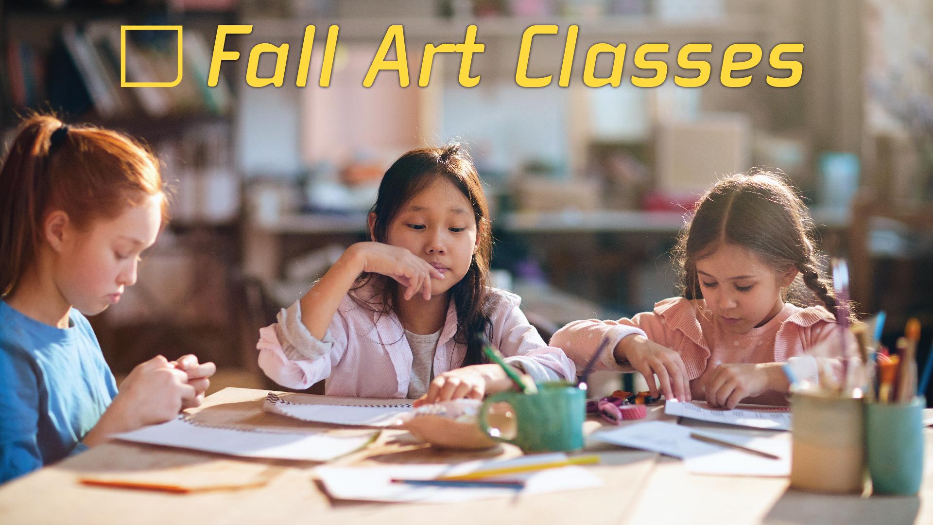 Fall Art Classes