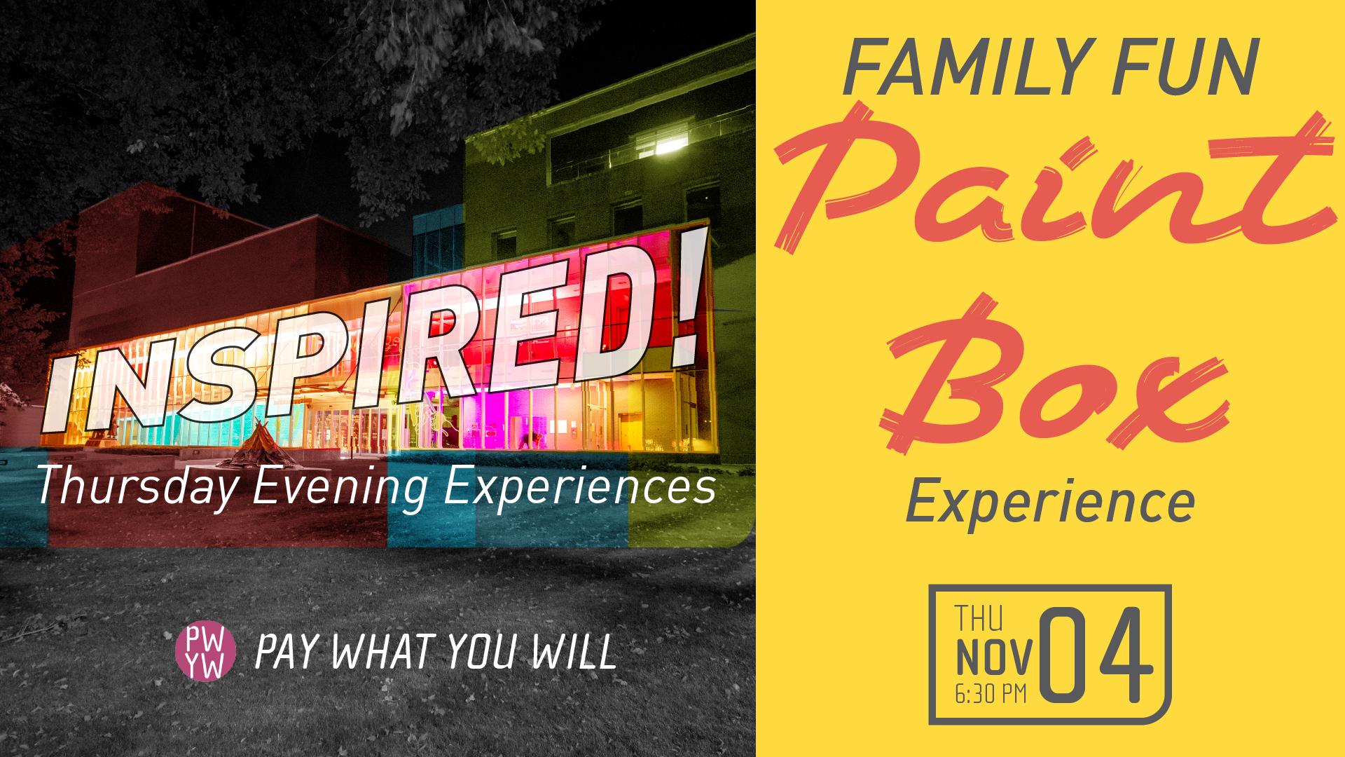 Inspired! Family Paint Box