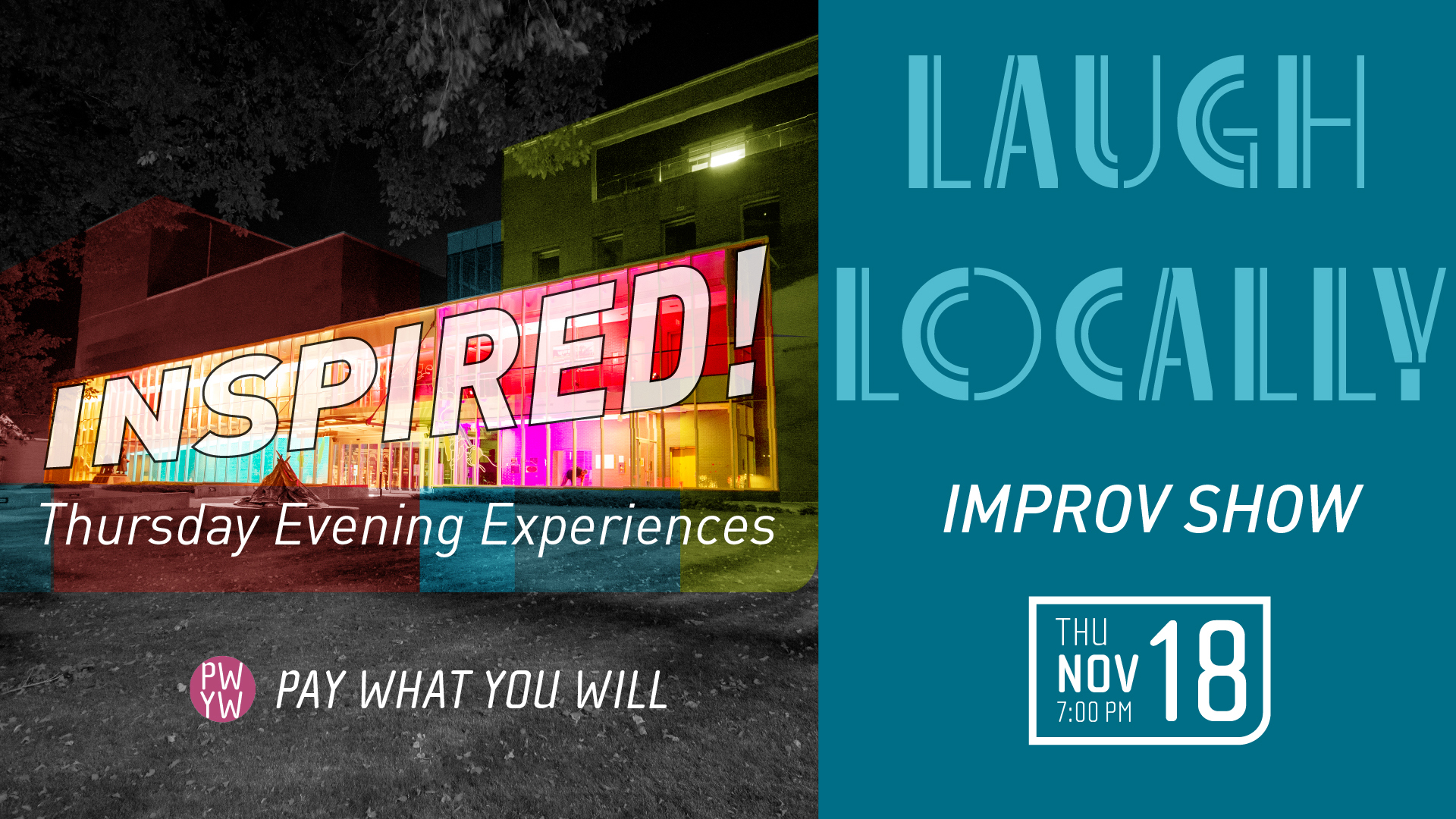 Inspired! Laugh Locally