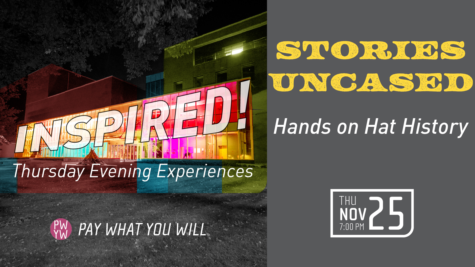 Inspired! Stories Uncased