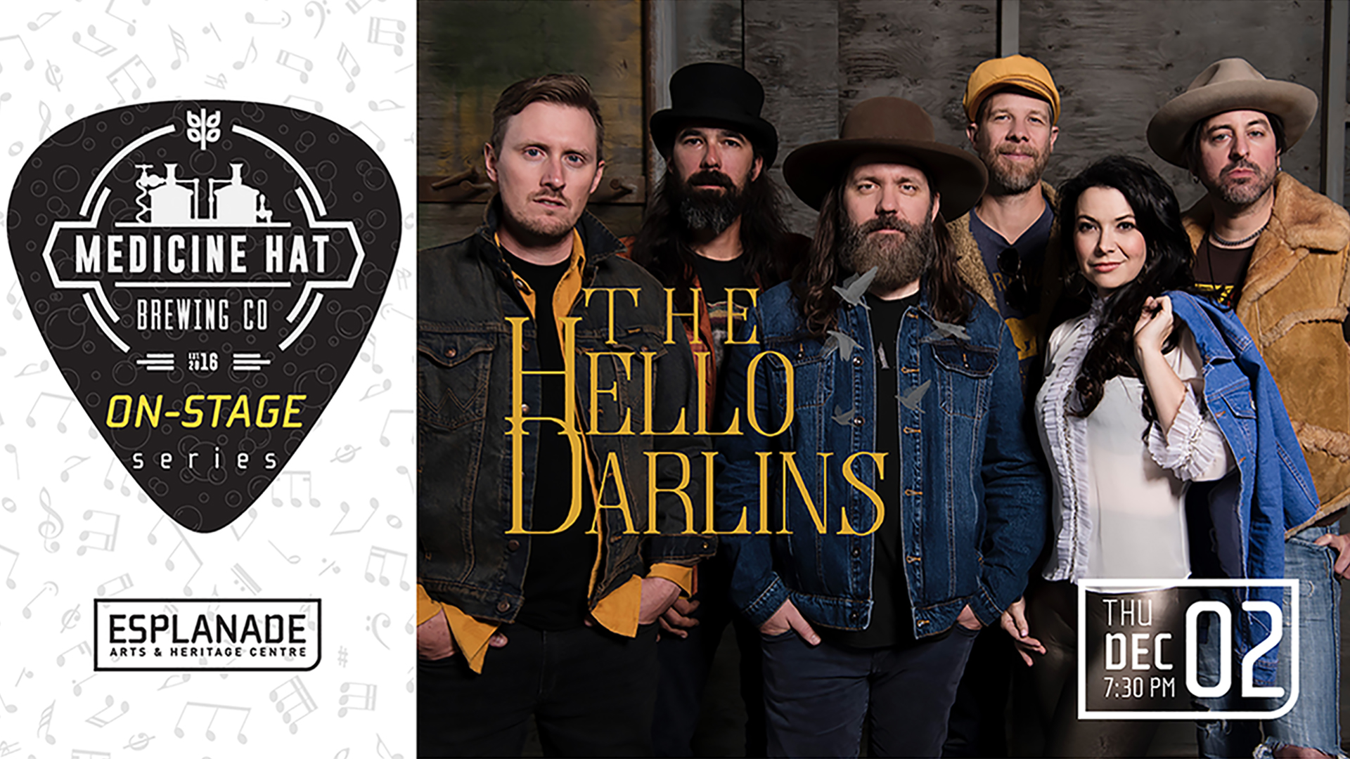 Medicine Hat Brewing Company On Stage Series: The Hello Darlins