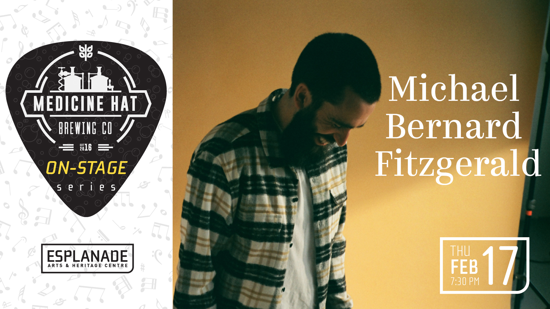 Medicine Hat Brewing Company On Stage Series: Michael Bernard Fitzgerald