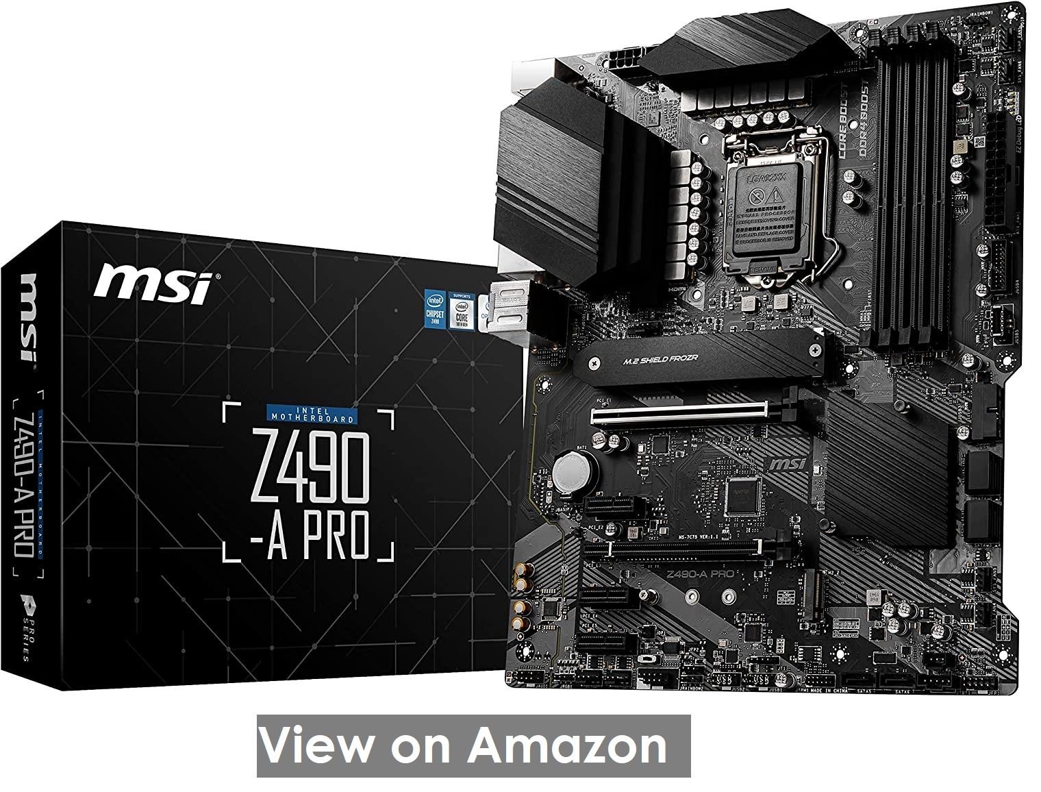 MSI Z490-A PRO ProSeries