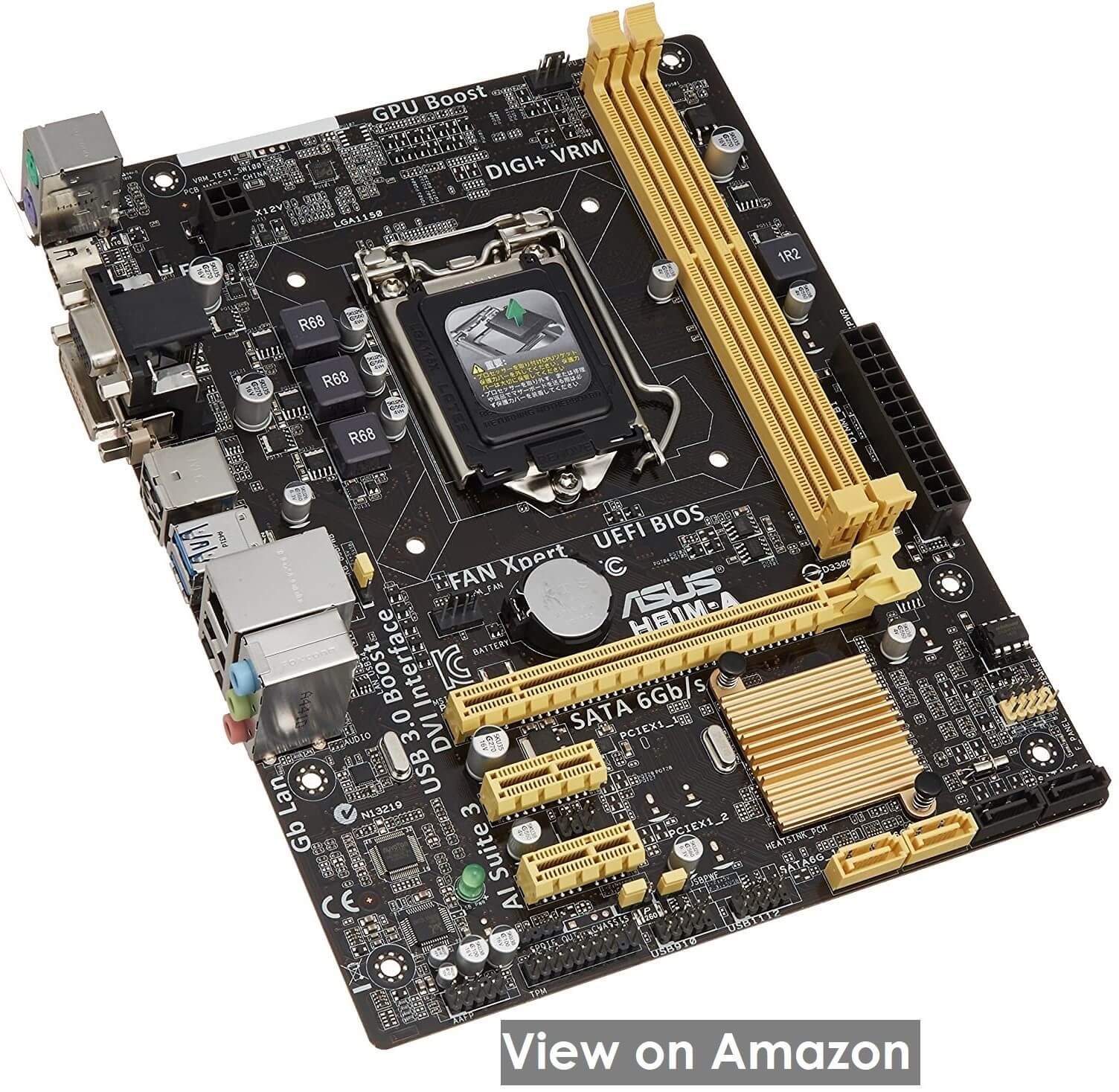 ASUS H81M-A- Best Looking Motherboard for i7-4790k