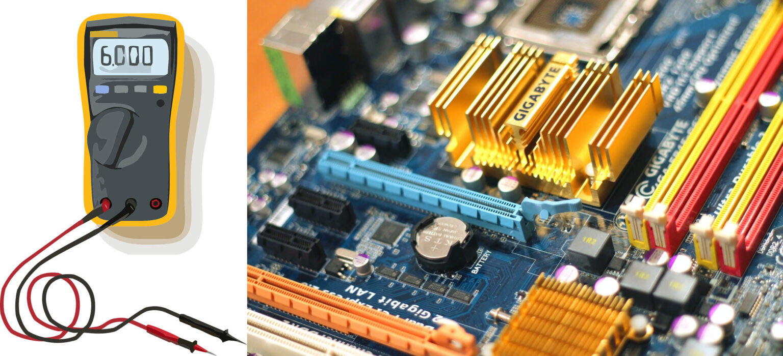 How to Test a Motherboard with a Multimeter: A Simple Guide