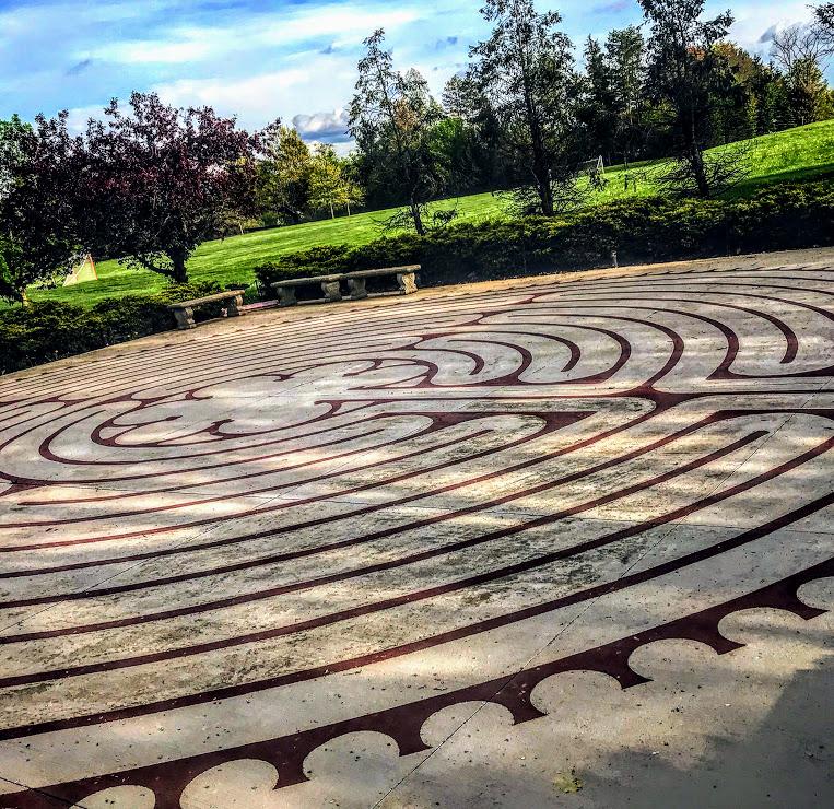 Ursuline College Labyrinth 2020