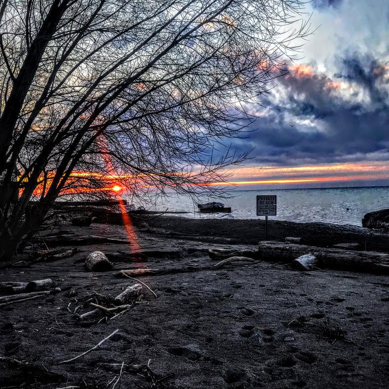 Lake Erie At North Madison, Ohio 2020