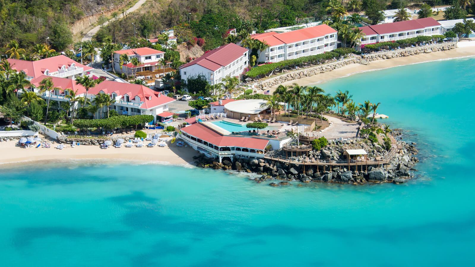 View of Grand Case Beach Club