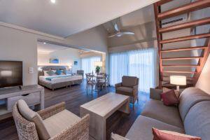1 Bedroom Loft Ocean Living and Sleeping | Grand Case Beach Club, St. Martin