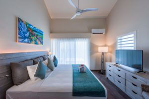 2 Bed Ocean Front Bedroom A  | Grand Case Beach Club, St. Martin
