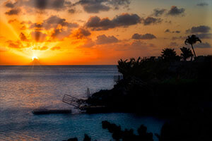 Best Place to Watch a Sunset on St. Martin!