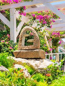 Lush Gardens At Grand Case Hotel