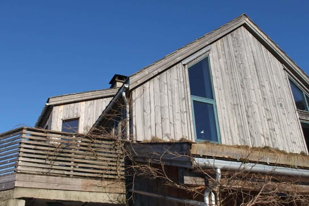 Bilde av det miljøvennlige huset til Edna Trovanelli.