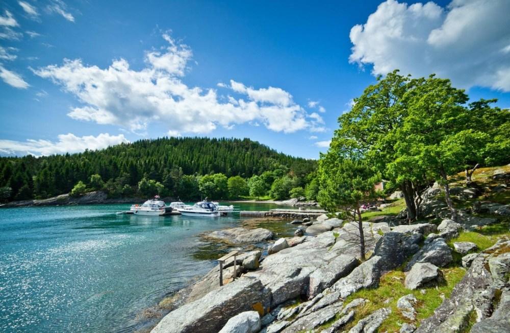 Bilde av båthavn foto: Svein Egil Økland