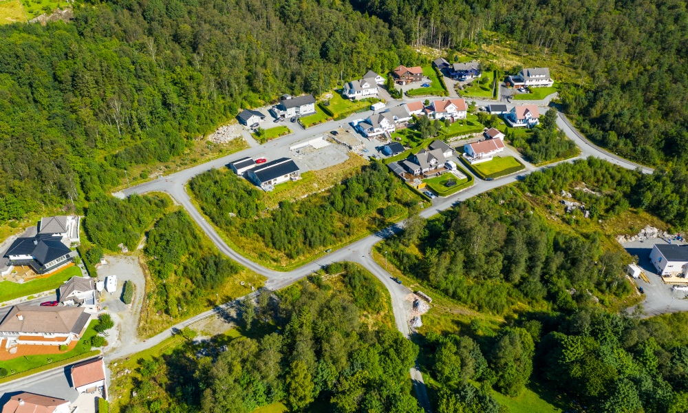 Bilde av vikebygd foto: Svein Egil Økland