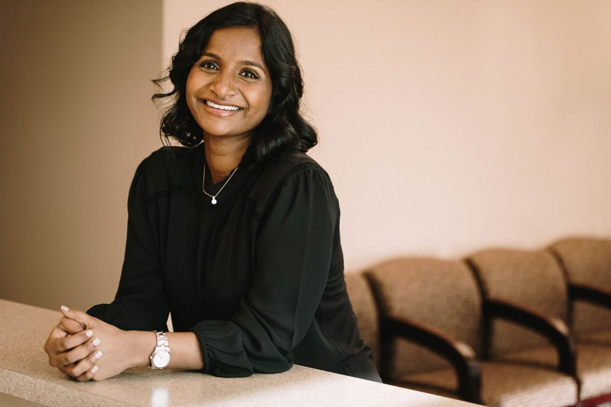 Photo of Dr. Jyothsna Reddy Sabalam, a dentist in Roseville California
