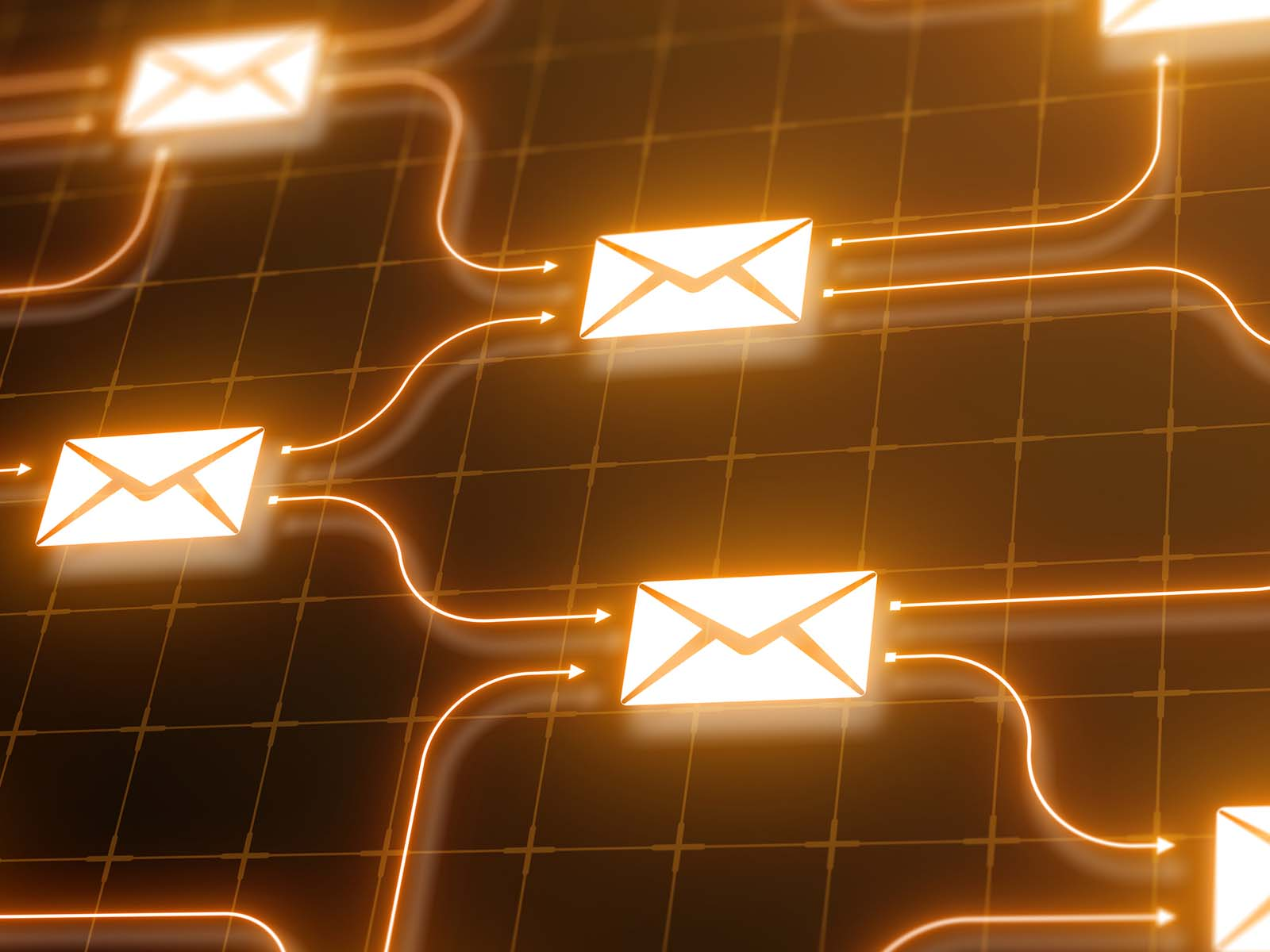 Shared services email automation