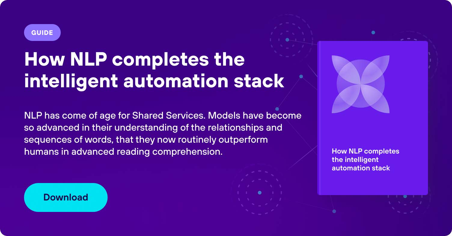 NLP completes intelligent automation stack
