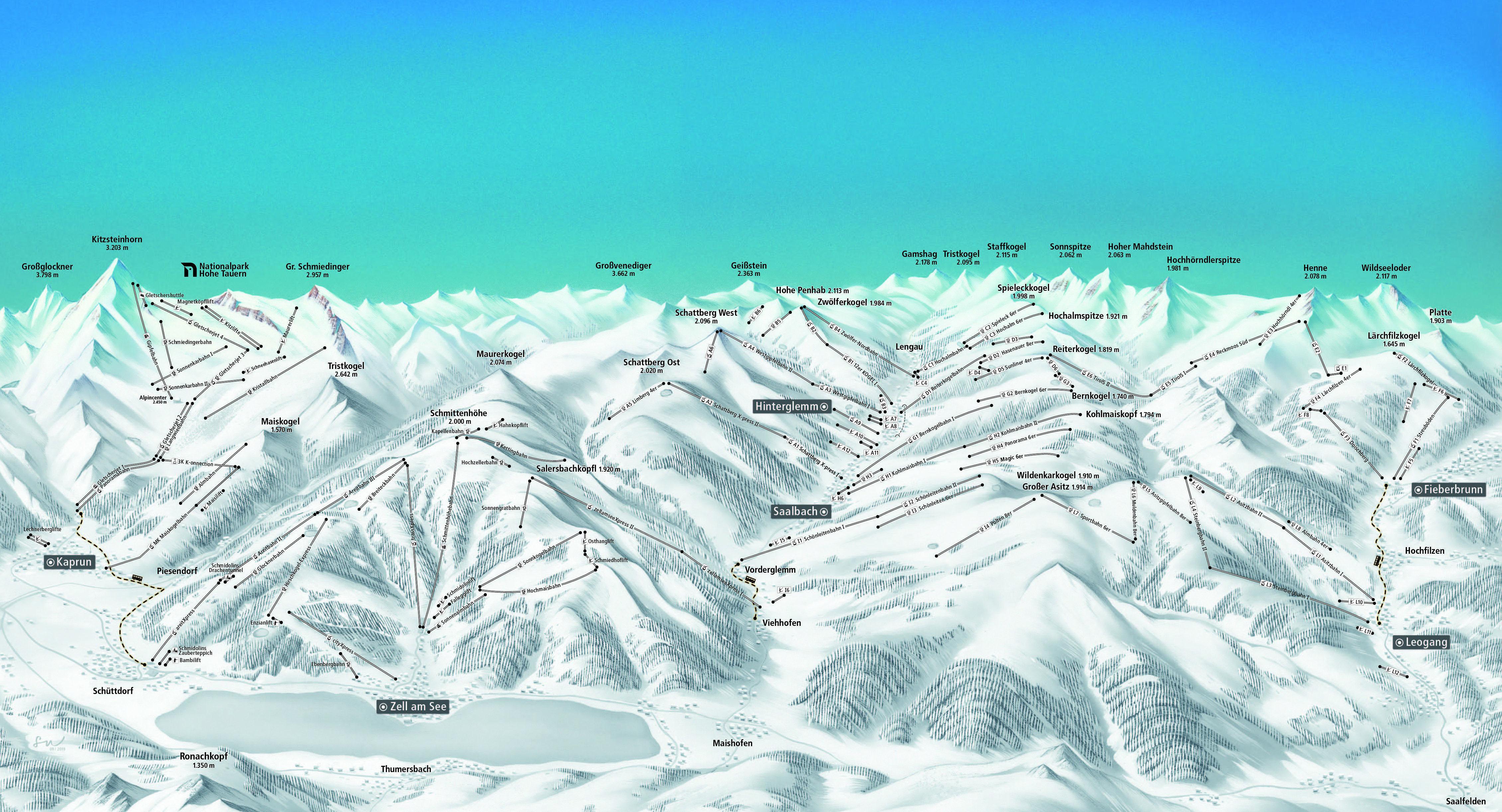Panorama: Rundumblick door Stephanie Naschberger
