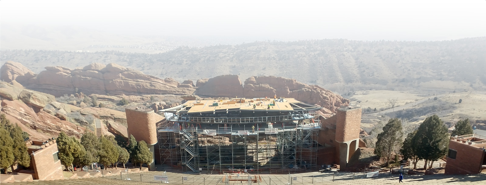 Red Rocks Construction Site